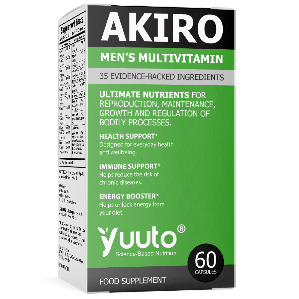 YUUTO® AKIRO Premium Men's Multivitamin