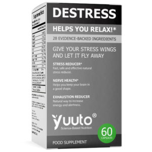 YUUTO® DESTRESS ANTI-ANXIETY/STRESS FORMULA