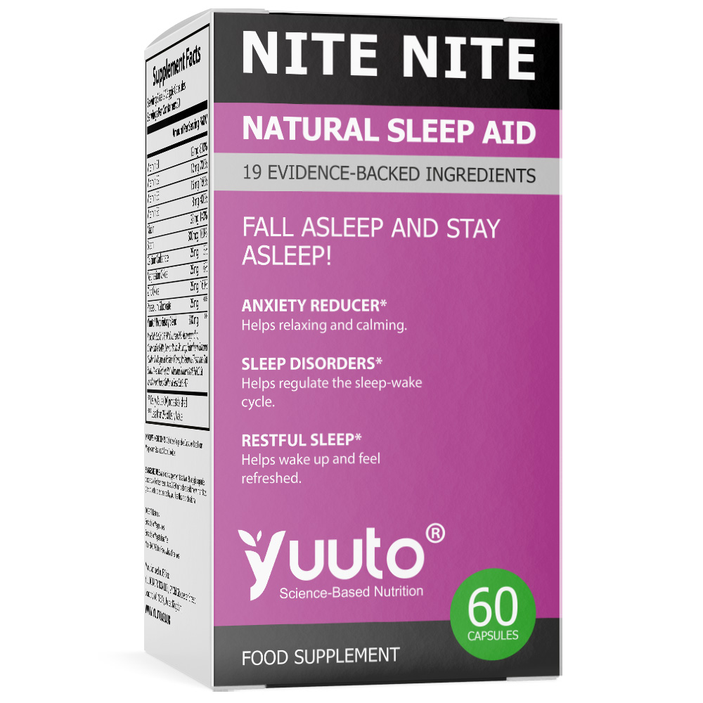 YUUTO® NITE NITE NATURAL SLEEP AID