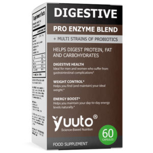 YUUTO® DIGESTIVE PRO ENZYME BLEND