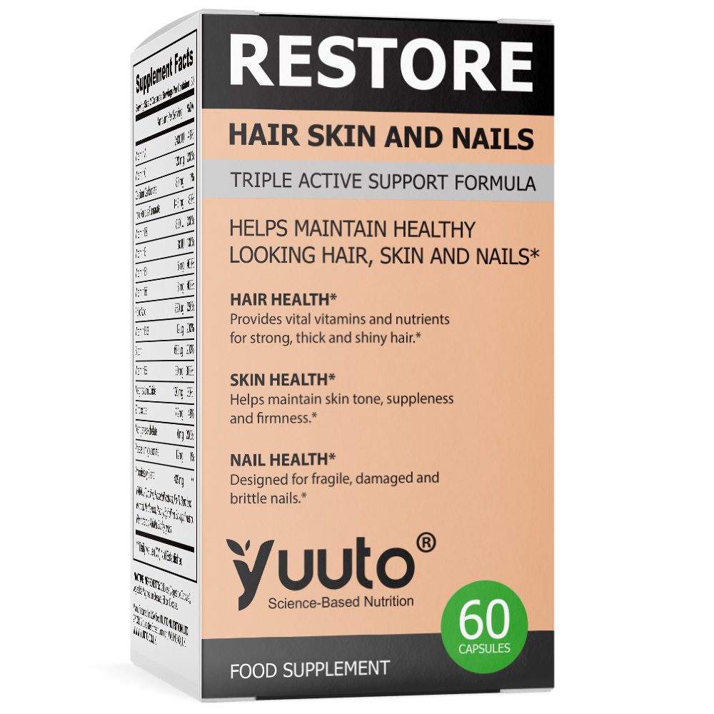 YUUTO® RESTORE HAIR SKIN AND NAIL