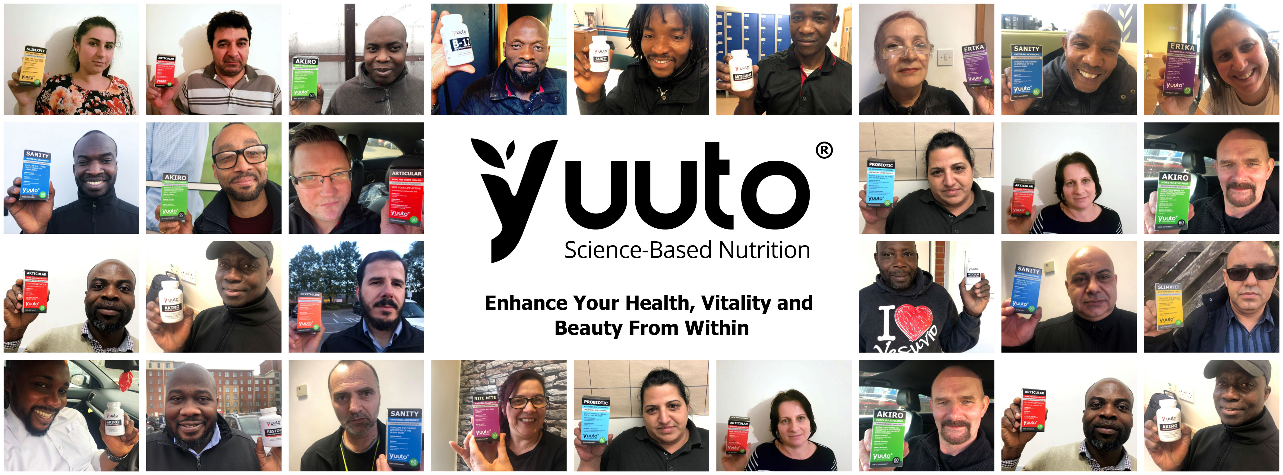 Welcome to Yuuto Nutrition B2B Website