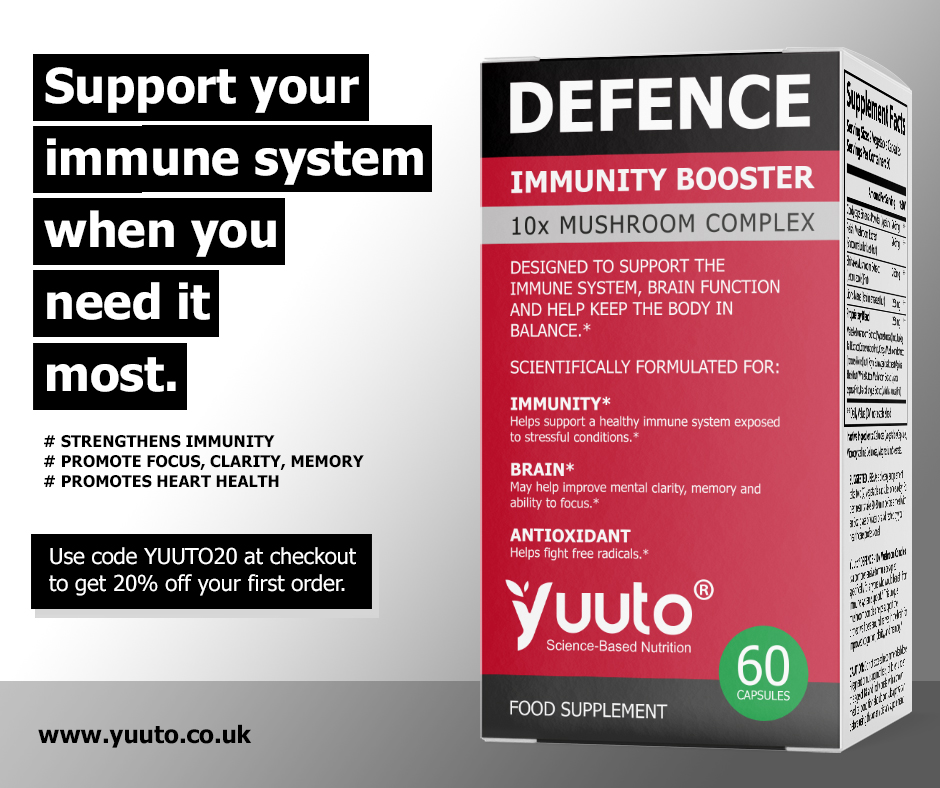 Yuuto® DEFENCE Immunity Booster